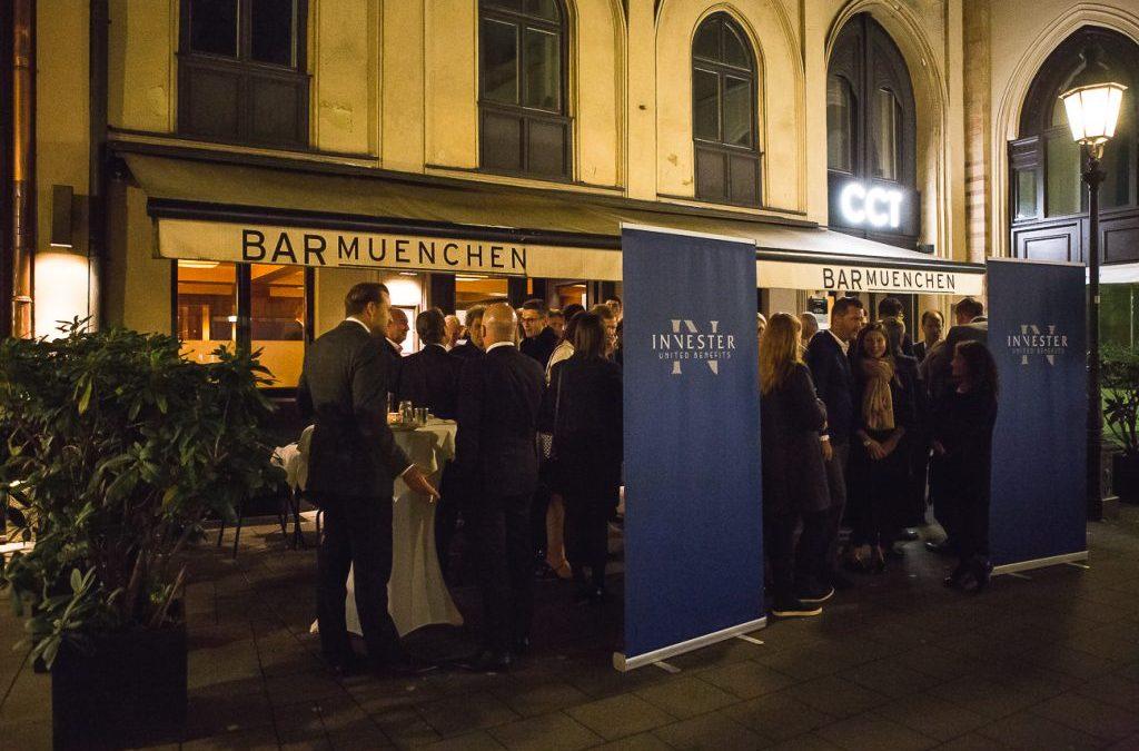 Großer Charity Erfolg bei der 1st INVESTER Night in München