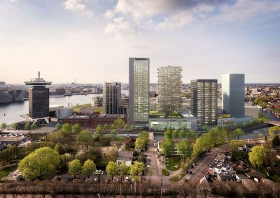 Y-Towers Amsterdam: EUR 180 million financing secured