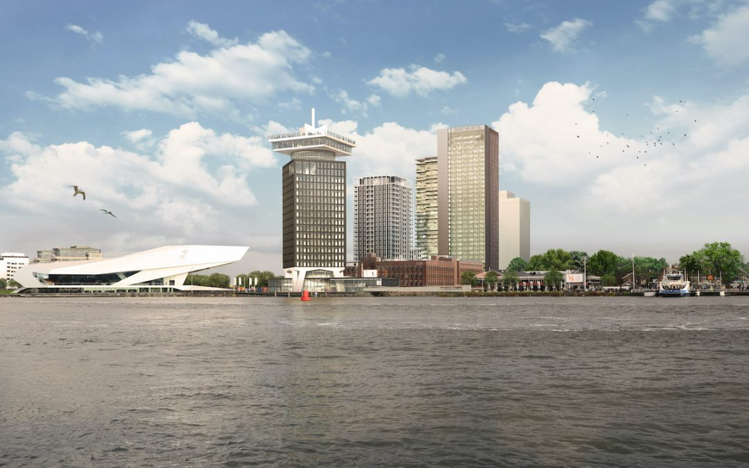 Austrian investors start construction of the Y-Towers in Amsterdam