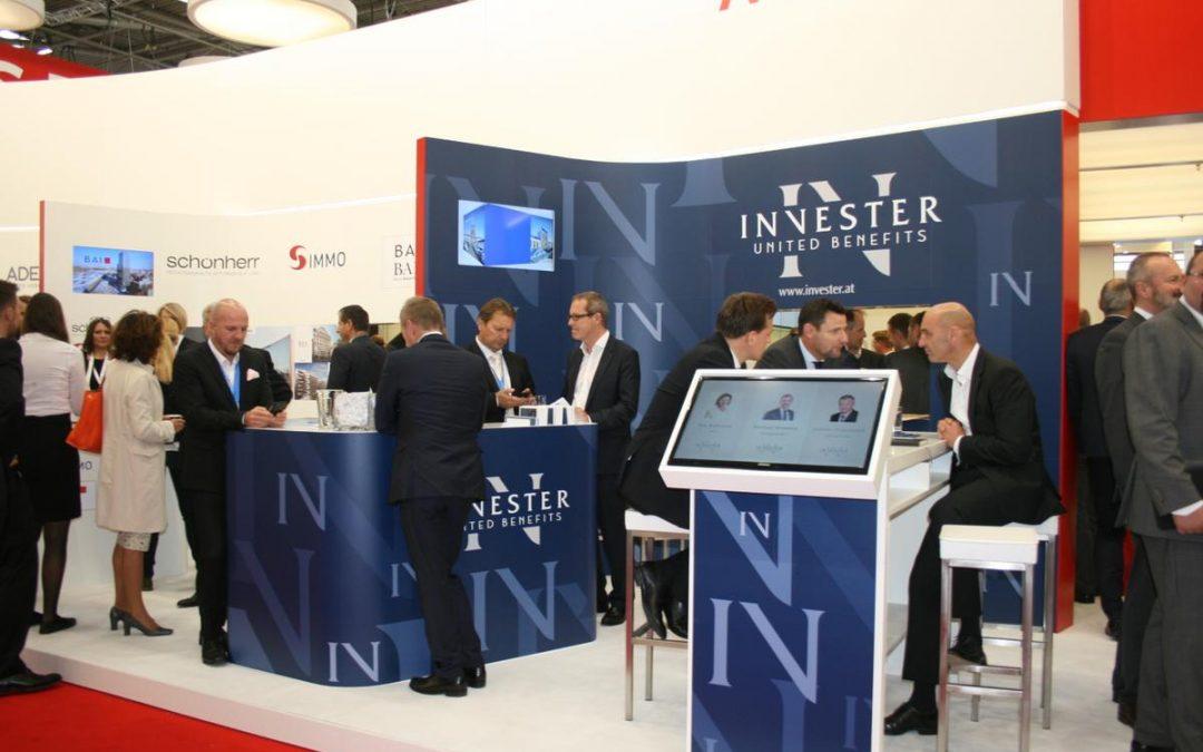 Erfolgreiche Expo Real 2017 für INVESTER United Benefits