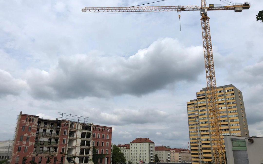 Construction Update: Wohngarten