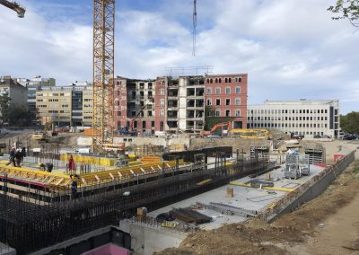 Construction Update: Wohngarten