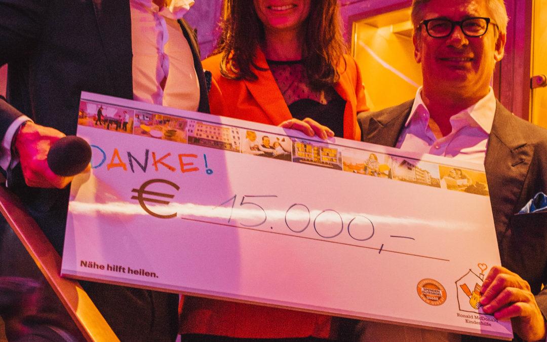 """Großer Charity-Erfolg bei der zweiten """"INVESTER Night"""" in München"""