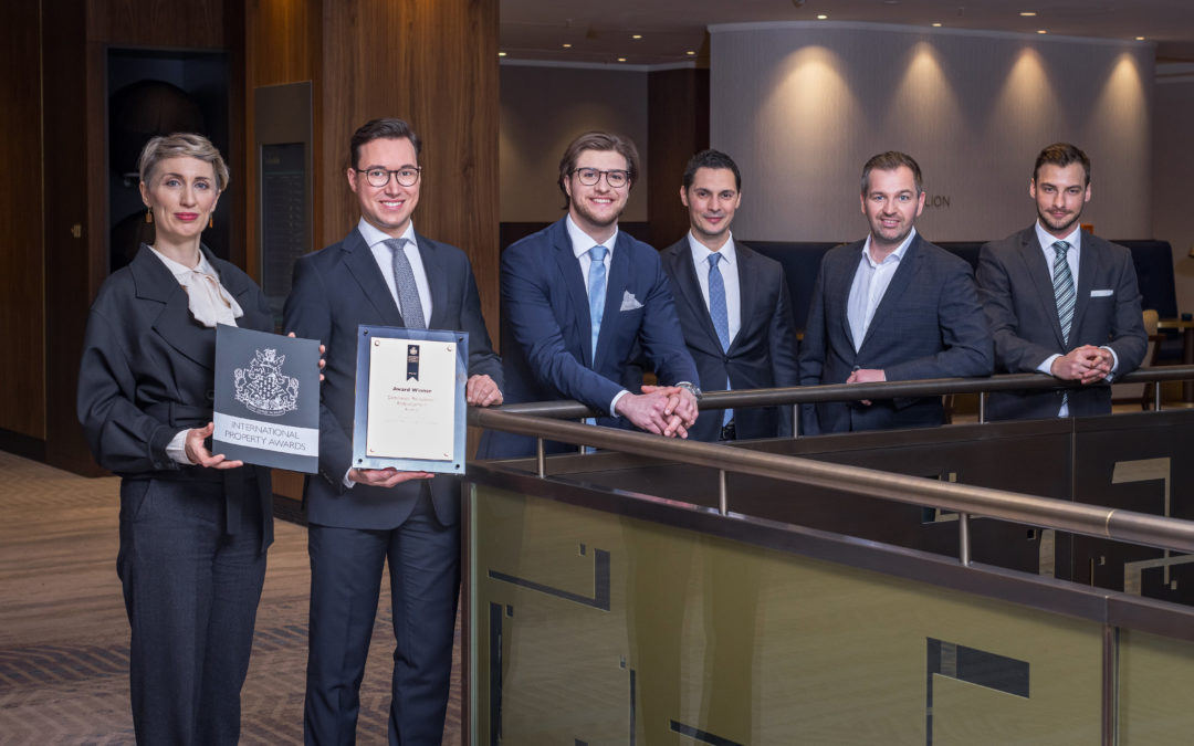 INVESTER gewinnt European Property Award für Hilton Vienna Park